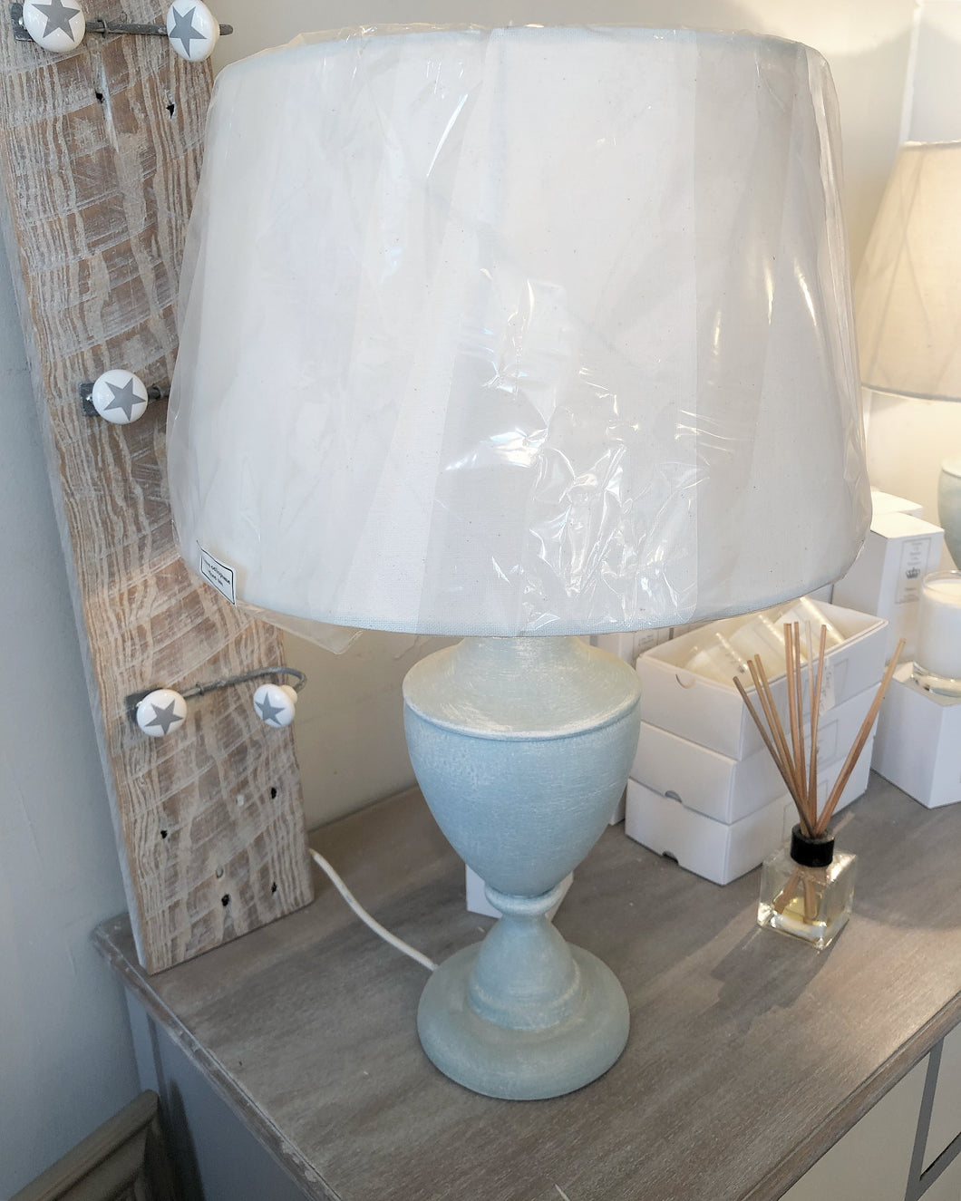 Handpainted Lamp With Shade *NOW SOLD*