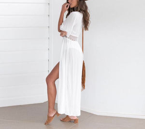 Chiffon Lace Cover Up