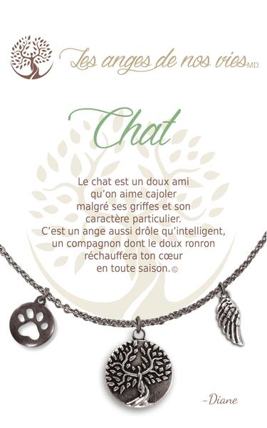Collier ''Chat''