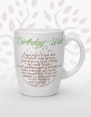 Tasse ''Birthday wish''
