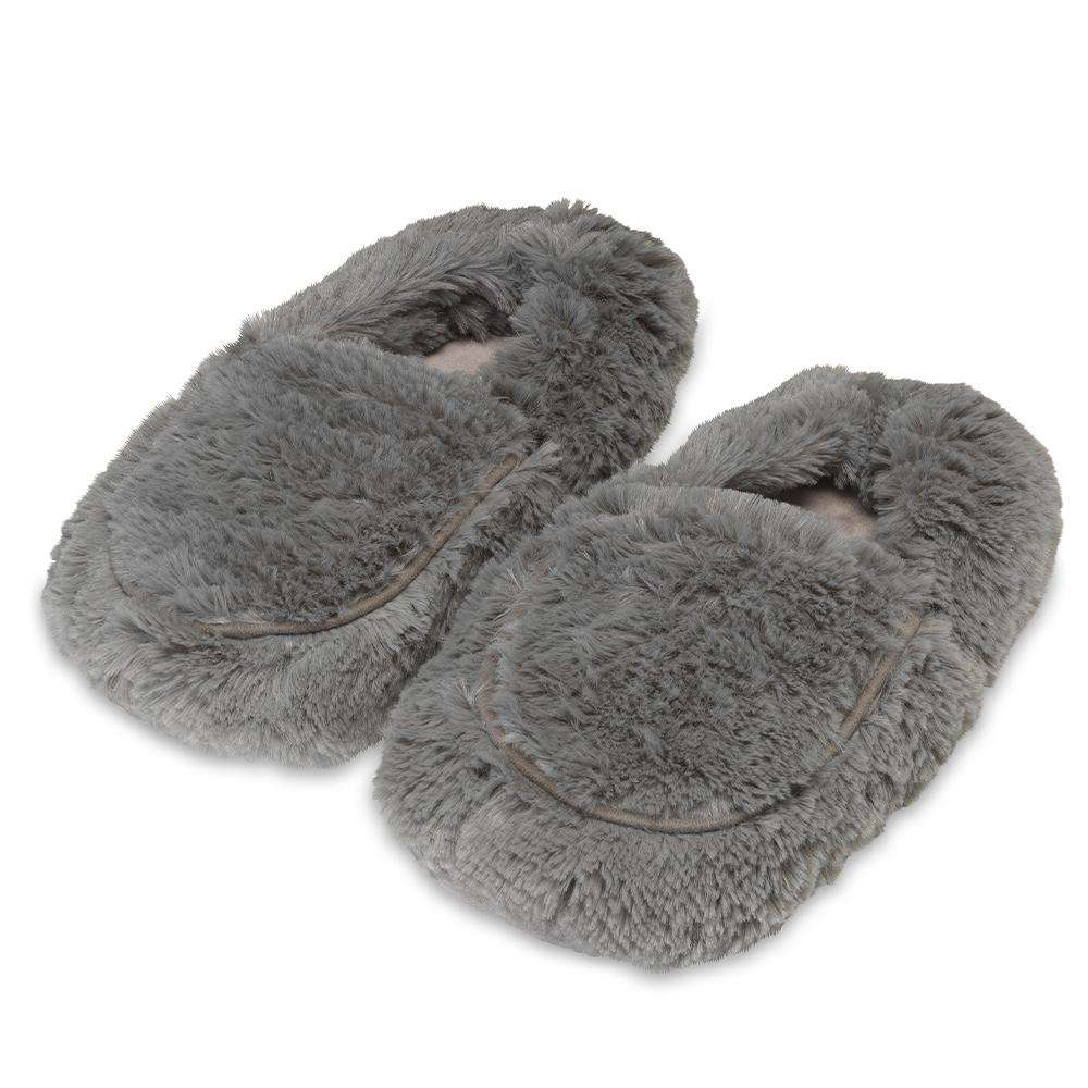 Gray Warmies Slippers