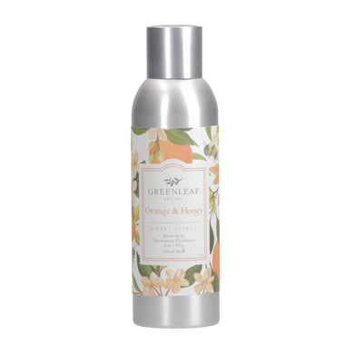 ORANGE & HONEY - Vaporisateur d'ambiance 6oz