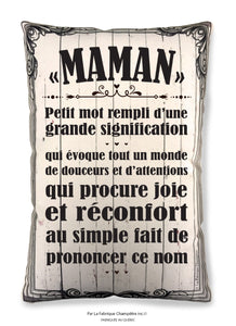 Coussin ''Maman''