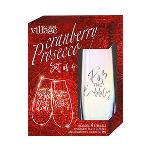 Cranberry Prosecco Gift kit for 4