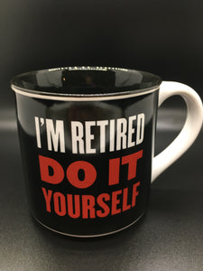 Tasse ''Retired''