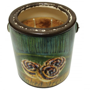 Praline Caramel Sticky Buns Farm Fresh Candle