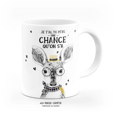 Tasse Barn ''Une chance qu'on s'a''