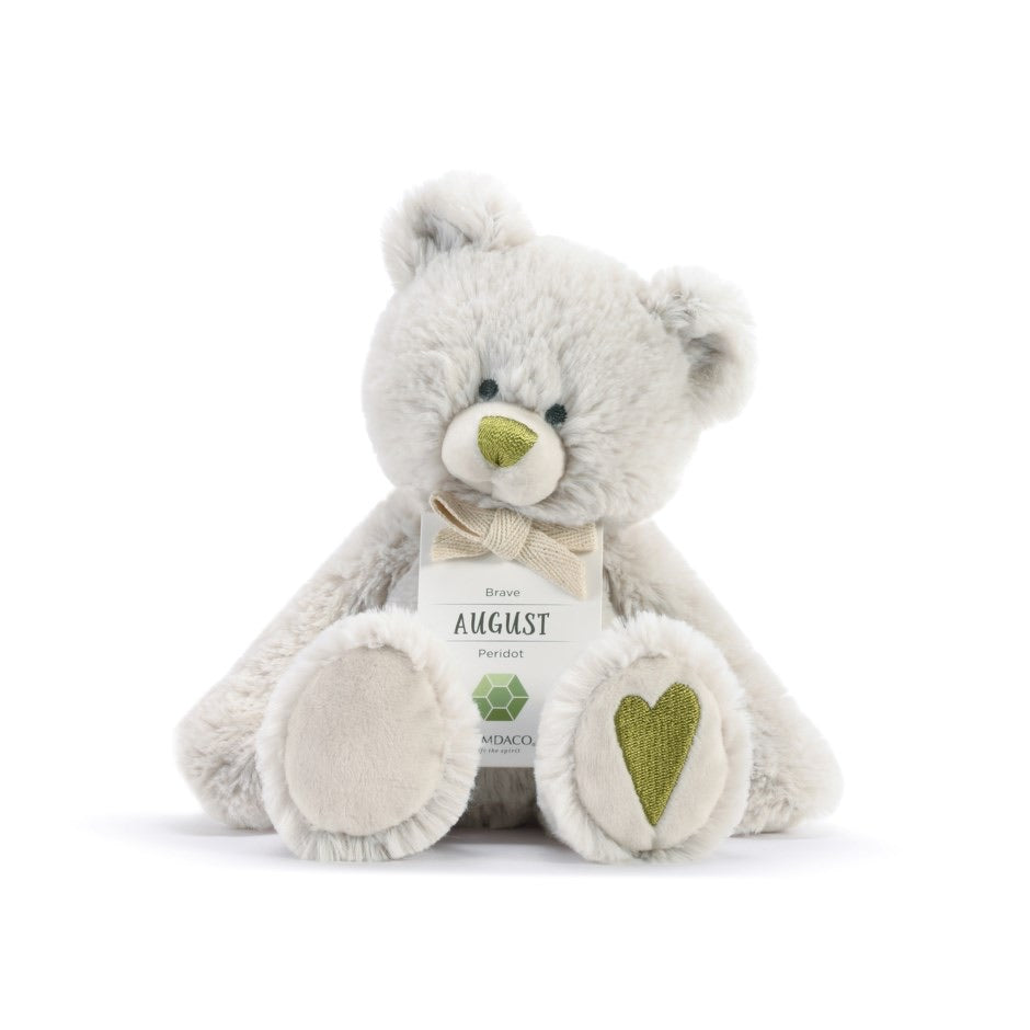 August Birthstone Bear 8.5''