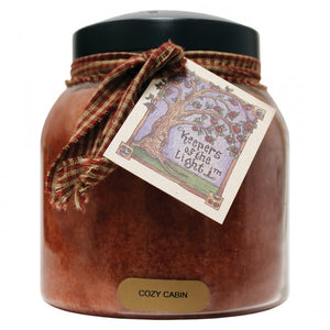 Cozy Cabin Papa Jar Candle