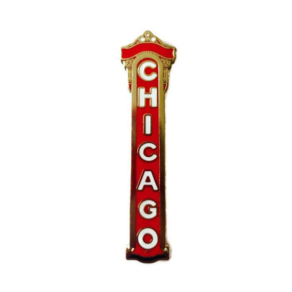 Chicago - Hard Enamel Pin