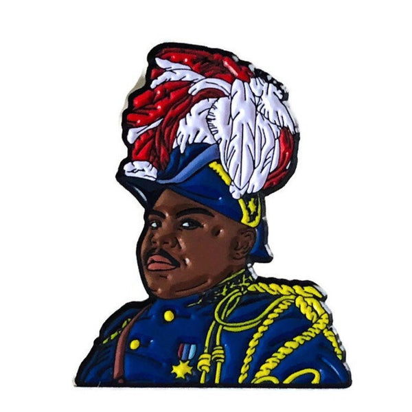 Marcus Garvey - Soft Enamel Pin