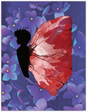 Black Butterfly - A2 Blank Greeting Card