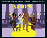 Ease On Down! - A2 Blank Greeting Card