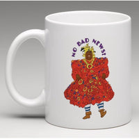 No Bad News - Illustrated 11oz White Mug