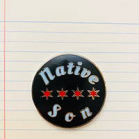 Native Son - Hard Enamel Pin