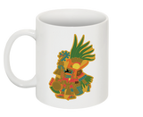 Huitzilopochtli - Illustrated 11oz White Mug