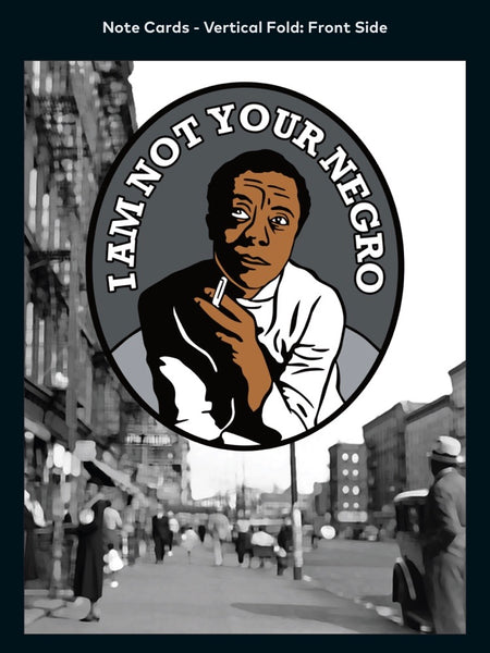 James Baldwin - A2 Blank Greeting Card
