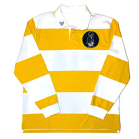 Yellow Striped Rugby Shirt XL