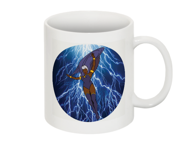 Weather Goddess - Illustrated 11oz White Mug