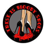 Bloody Shoes - Magnet