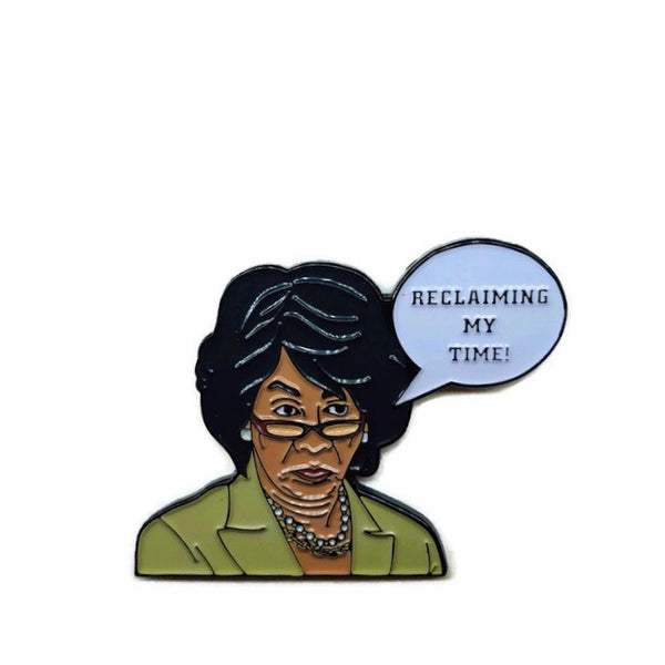 Maxine Waters - Soft Enamel Pin