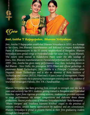 Arangetram Invitation - 01 - imaginations