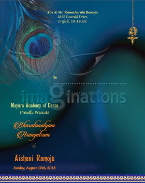 Arangetram Invitation - 05 - imaginations