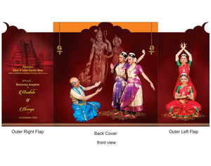 Arangetram-Invitations -DC-901