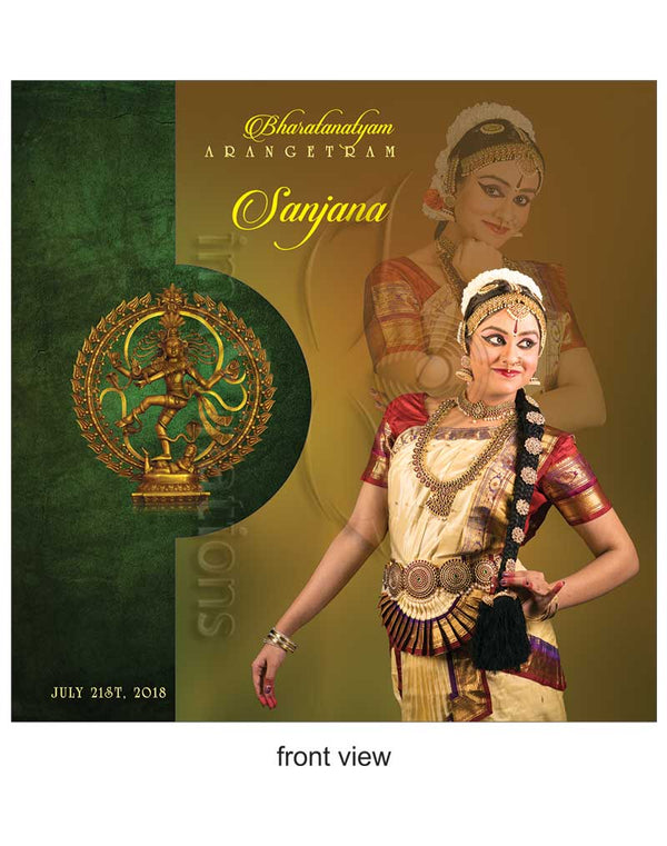 Arangetram-Invitations -DC-902