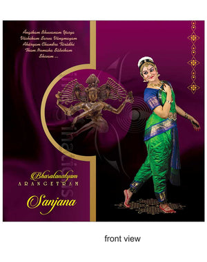 Arangetram-Invitations -DC-903