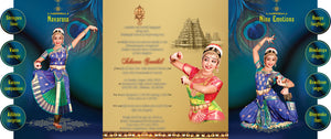 Arangetram-Invitations -DC-905