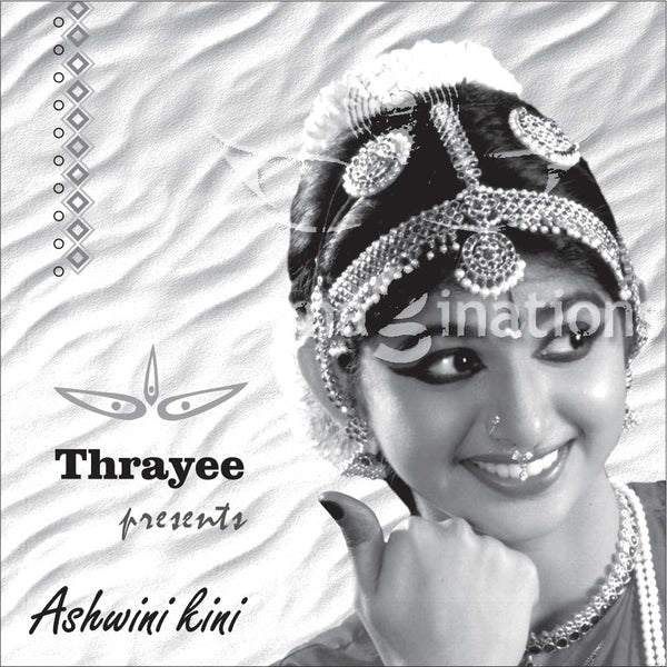 Arangetram Invitations - Black & White - 002 - imaginations