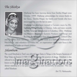 Arangetram Invitations - BLACK & WHITE - 004 - imaginations