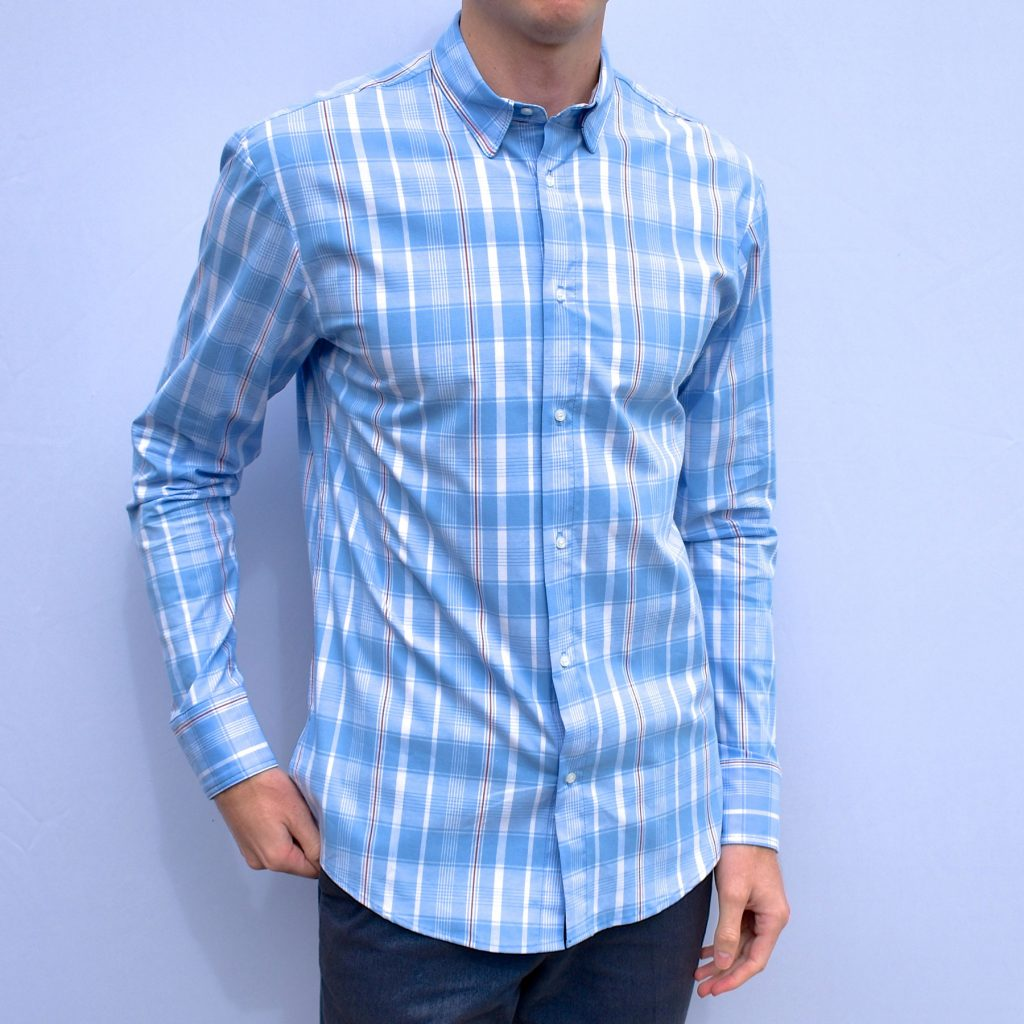 Tucker Stretch Button Down