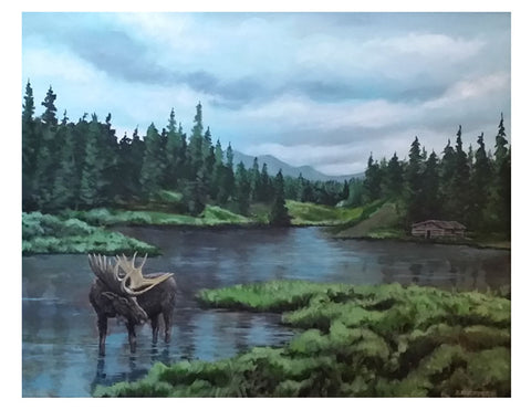 mclean lake painting