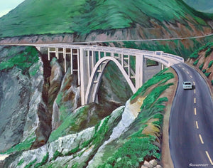 Bixby Creek Bridge: Giclée Print