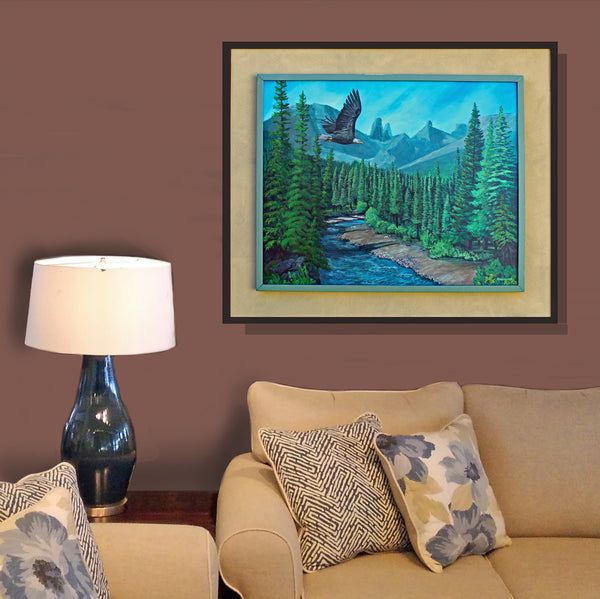 Livingstone Falls: Art and Giclée Print