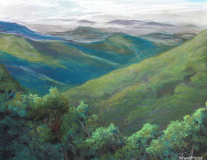 Mornings in the Smokies: Original Fine Art Painting