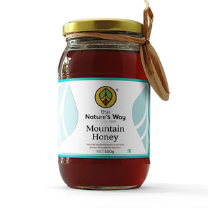 The natures way mountain honey