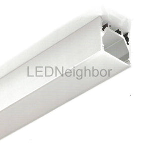 "5Pack 1 Meter 39.4"" LED Aluminium Channel 25mm(H) x 25mm(W) suit for max 13.2mm width strip light Free Shipping By DHL"