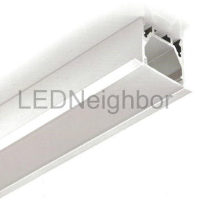 "5Pack 1 Meter 39.4"" LED Aluminium Channel 25mm(H) x 35mm(W) suit for max 13.2mm width strip light Free Shipping By DHL"