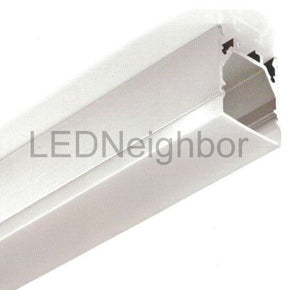 5Pack LED Aluminium Channel 1 Meter(39.4inch) Recessed 32.4mm(H) x 25mm(W) suit for max 13.2mm width strip light Free Shipping By DHL
