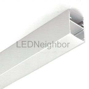 5Pack LED Channel Slim LED Profile 35mm(H) x 25.4mm(W) suit for max 16.1mm width strip light Free Shipping By DHL