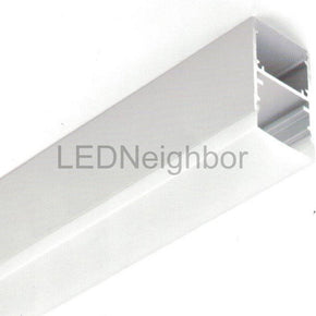 5Pack LED Aluminium Channel Pendant 42mm(H) x 25.4mm(W) suit for max 16.2mm width strip light Free Shipping By DHL