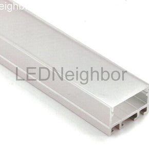 5Pack LED Channel 16mm(H) x 25.4mm(W) suit for max 20.1mm width strip light Free Shipping By DHL