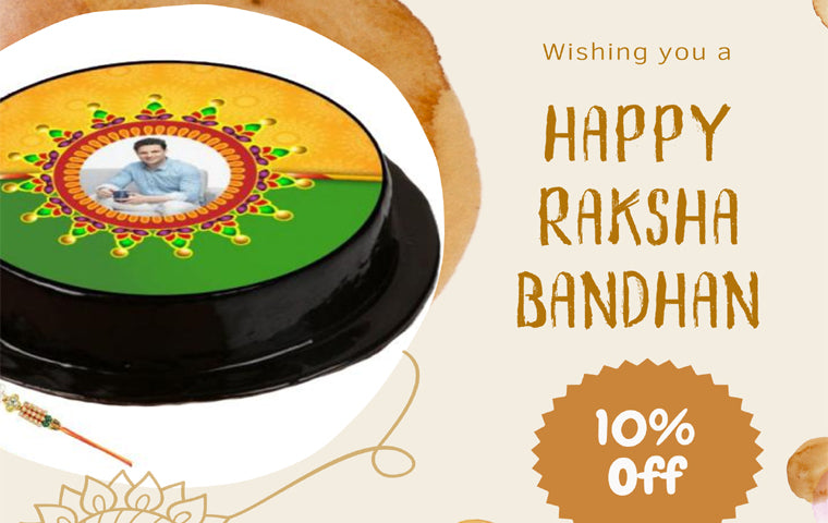 Send Rakhi With Cake Online