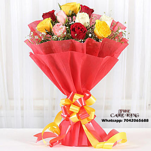 10 Mix Roses Bookey - The Cake King