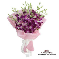 6 Purple Orchid Bookey