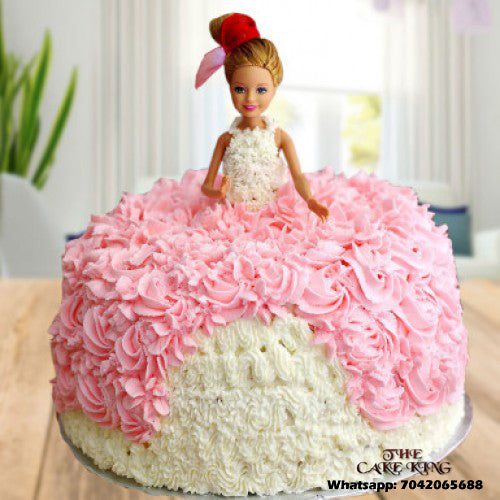 Barbie Doll Cake - The Cake King