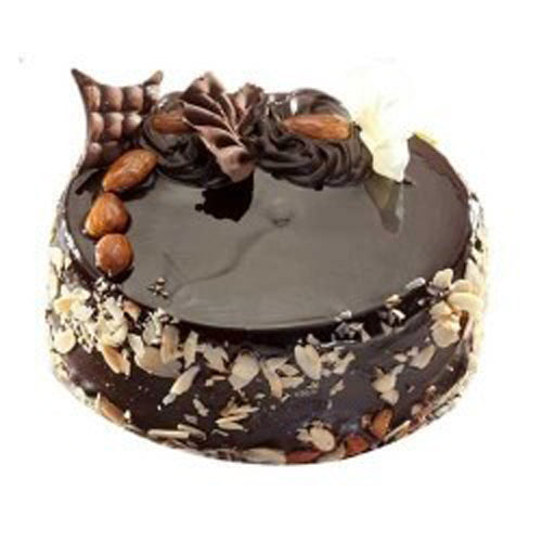 Choco Almond Cake - The Cake King